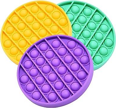 Kids Sensory Toy Push Pop Fidget Toy Stress Relief Desktop Educational Toys