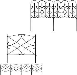 Amagabeli Garden Fence 32inx10ft Bundle Garden Fence 24inx10ft
