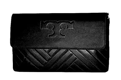 b4d40e77a68 Image Unavailable. Image not available for. Color  Tory Burch Alexa Clutch  Leather Women s Handbag ...
