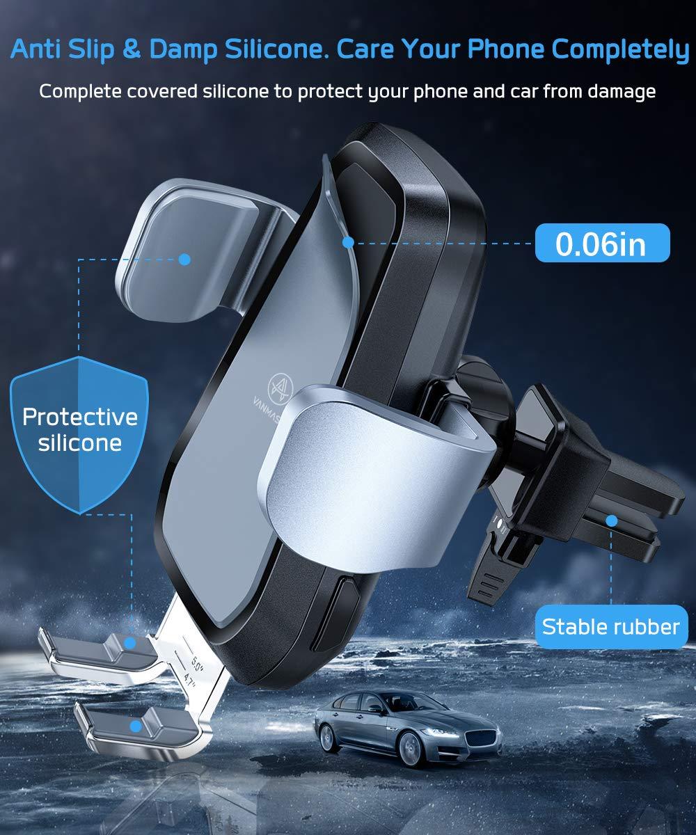 Amazon.com: Cargador de coche inalámbrico VANMASS de 10 W Qi ...