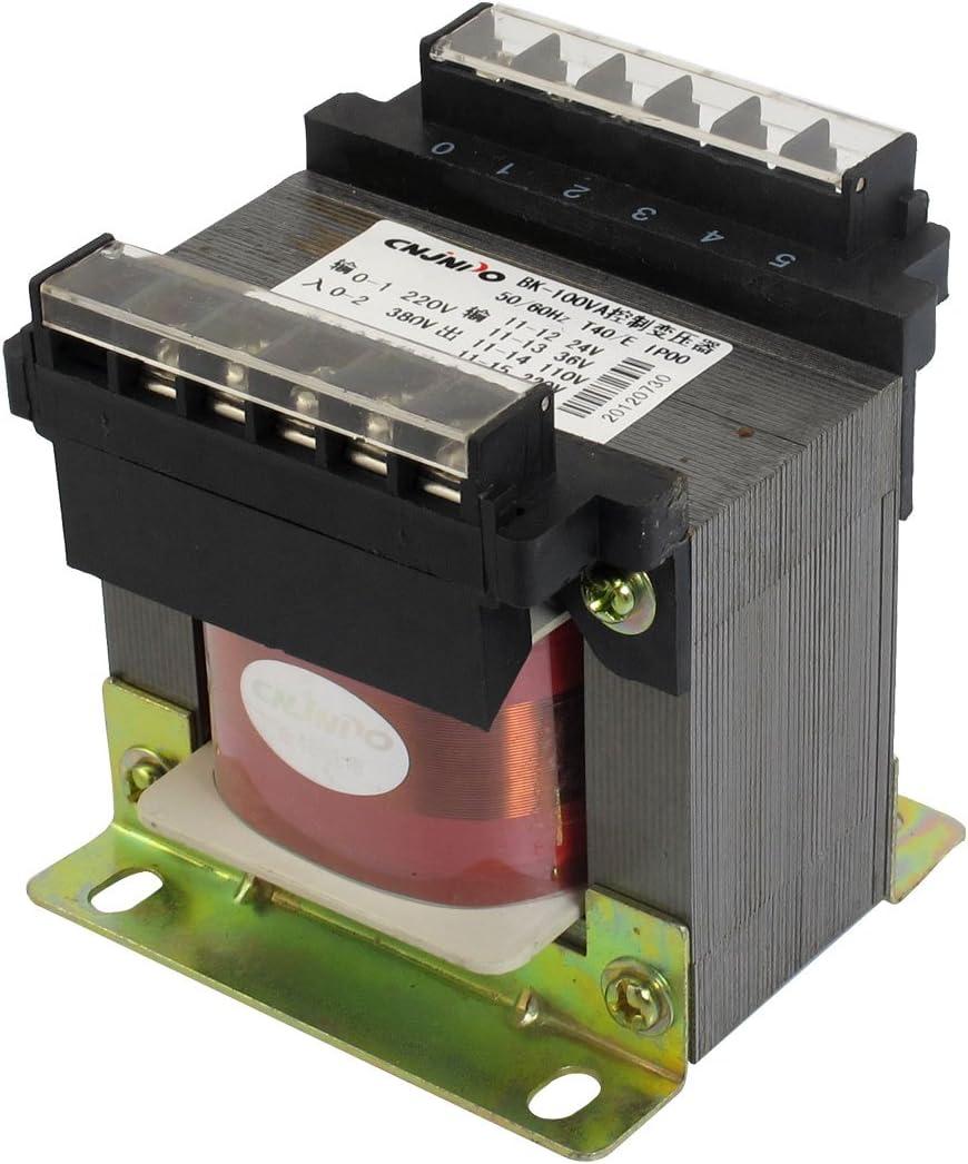 X-Dr Entrada automática AC 220V 380V Transformador de control de voltaje monofásico (3a596bbb45b18c89fcf1d2f2ea672537)
