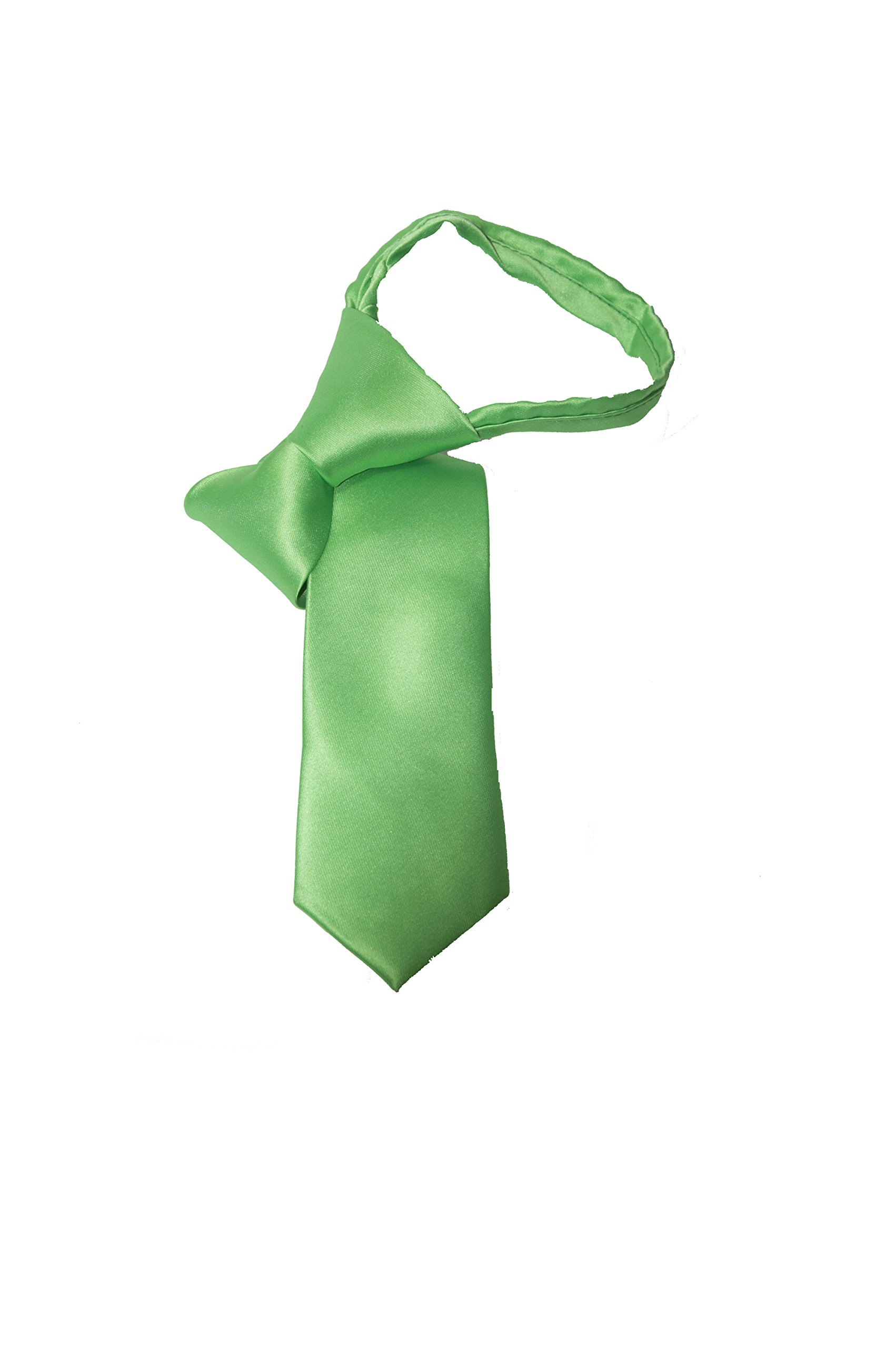 Sea Green Youth Zipper Tie by Tie the Knot Attire (Image #3)
