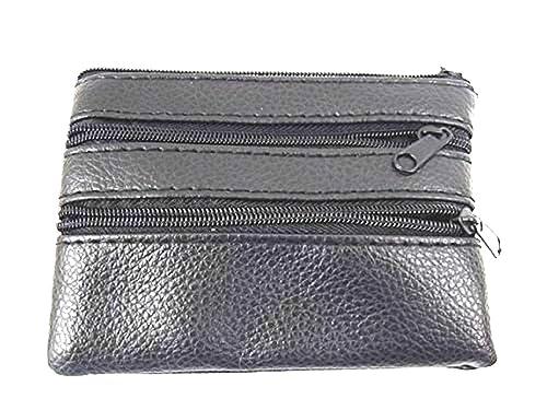26b2d8d1616 MENS LADIES SOFT BLACK LEATHER COIN POUCH PURSE WALLET 1937: Amazon.co.uk:  Shoes & Bags
