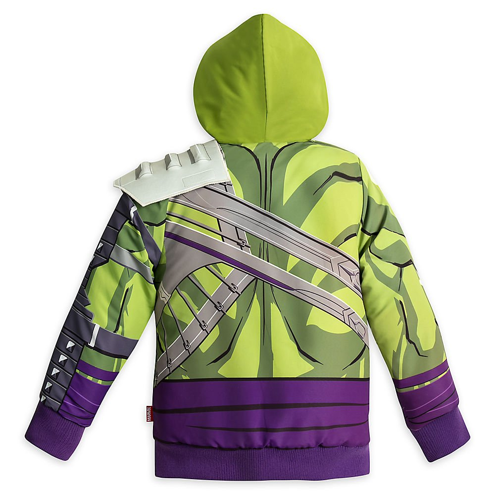 Thor Ragnarok Marvel Hulk Fleece Jacket for Boys