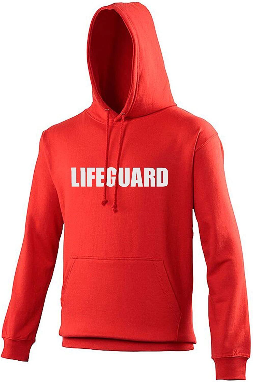 "Unisex Kapuzenpullover mit Aufdruck /""Lifeguard/"""
