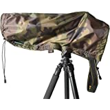 WildRoar Rain & Dust Cover-for Nikon 200-500, Tamron 150-600 – Green Forest