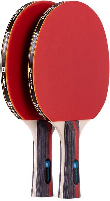 Amazon.com: upconpro Premium de 5 estrellas ping pong ...