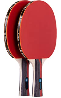 Amazon.com : Killerspin JET Set 2 Table Tennis Paddles and ...