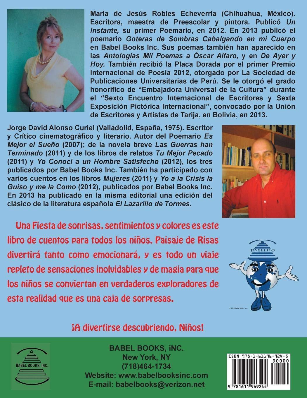 Paisaje de Risas (Spanish Edition): Maria De Jesus Robles Echeverria, Jorge David Alonso Curiel, Yoselem G. Divincenzo: 9781611969245: Amazon.com: Books
