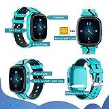 Kids Smart Watch GPS Tracker - Waterproof GPS