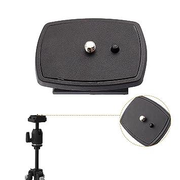 Yosoo Kit de conexión de cabeza de trípode de viaje cámara réflex ...