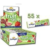 SunRype Apple Strawberry Watermelon Fruit to Go 100% Fruit Strip Snacks - Vegan, Gluten-Free, Kosher, Peanut-Free (Case of 55 Strips)