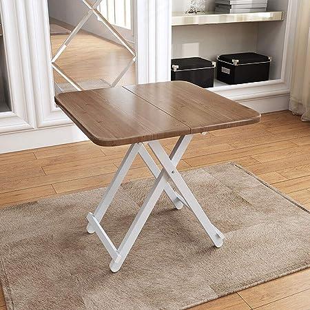 Mesa plegable Mesa de comedor portátil portátil de Leqi Mesa ...