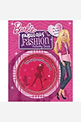 Barbie Fabulous Fashion Activity Book (with Hairband) Paperback