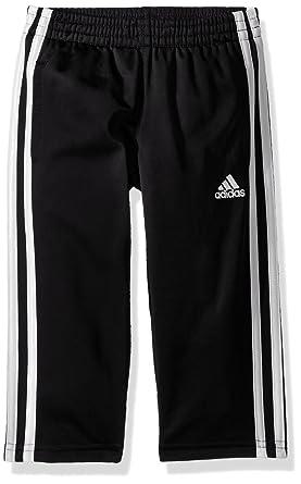new style 2aff1 f7bf9 adidas Boys  Little Tricot Pant, Iconic Adi Black, ...