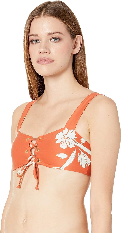 c12c812c968eb Amazon.com: O'Neill Women's Slater Lace-Up Top: Clothing
