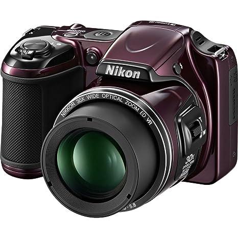buy nikon coolpix l820 16mp point and shoot digital camera plum