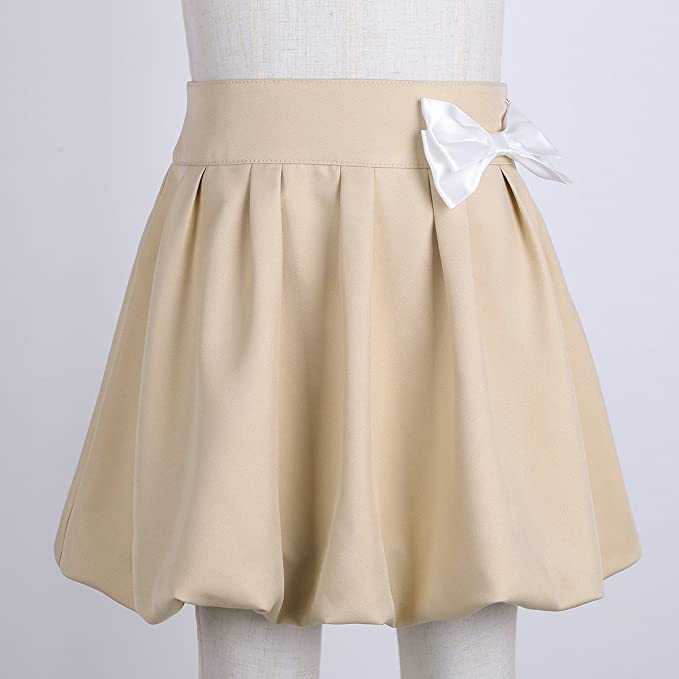 Amazon.com: Freebily - Vestido clásico plisado para niña con ...
