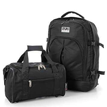 Ryanair 55x40x20cm Maximum Cabin Allowance Backpack   35x20x20cm Second  Hand Luggage Bag - Take both for 72bb9a820d