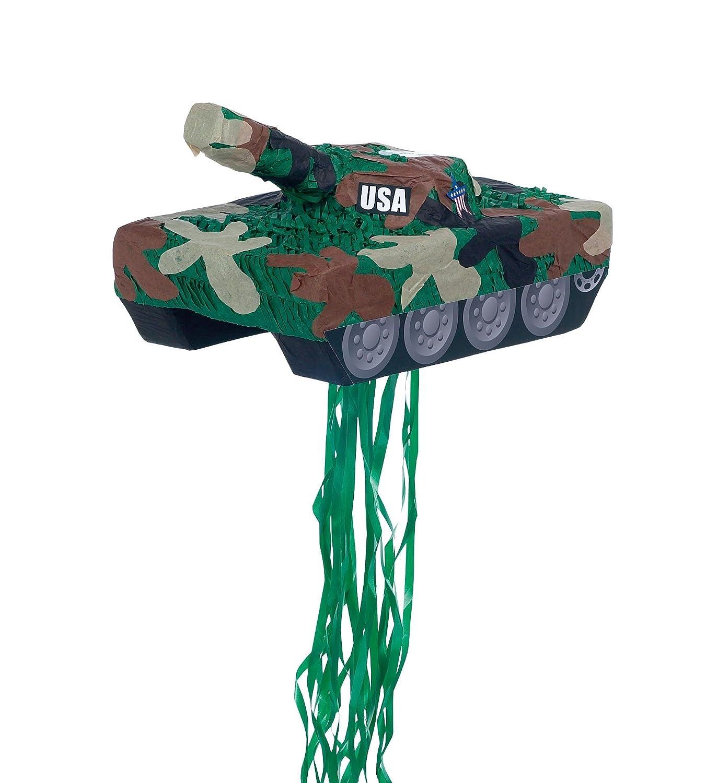 paper YA 3345 YA OTTA PINATA 30229 Tank Pull String Pinata