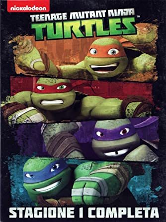 Teenage Mutant Ninja Turtles - Stagione 1 Completa 4 DVD ...