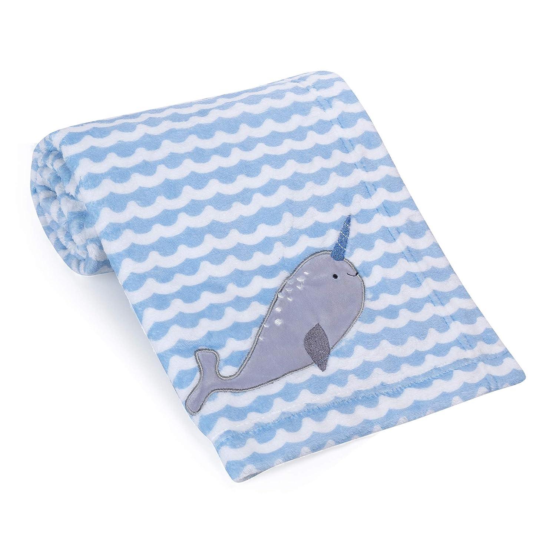 Bedtime Originals Whales Tale Baby Blanket Multicolor