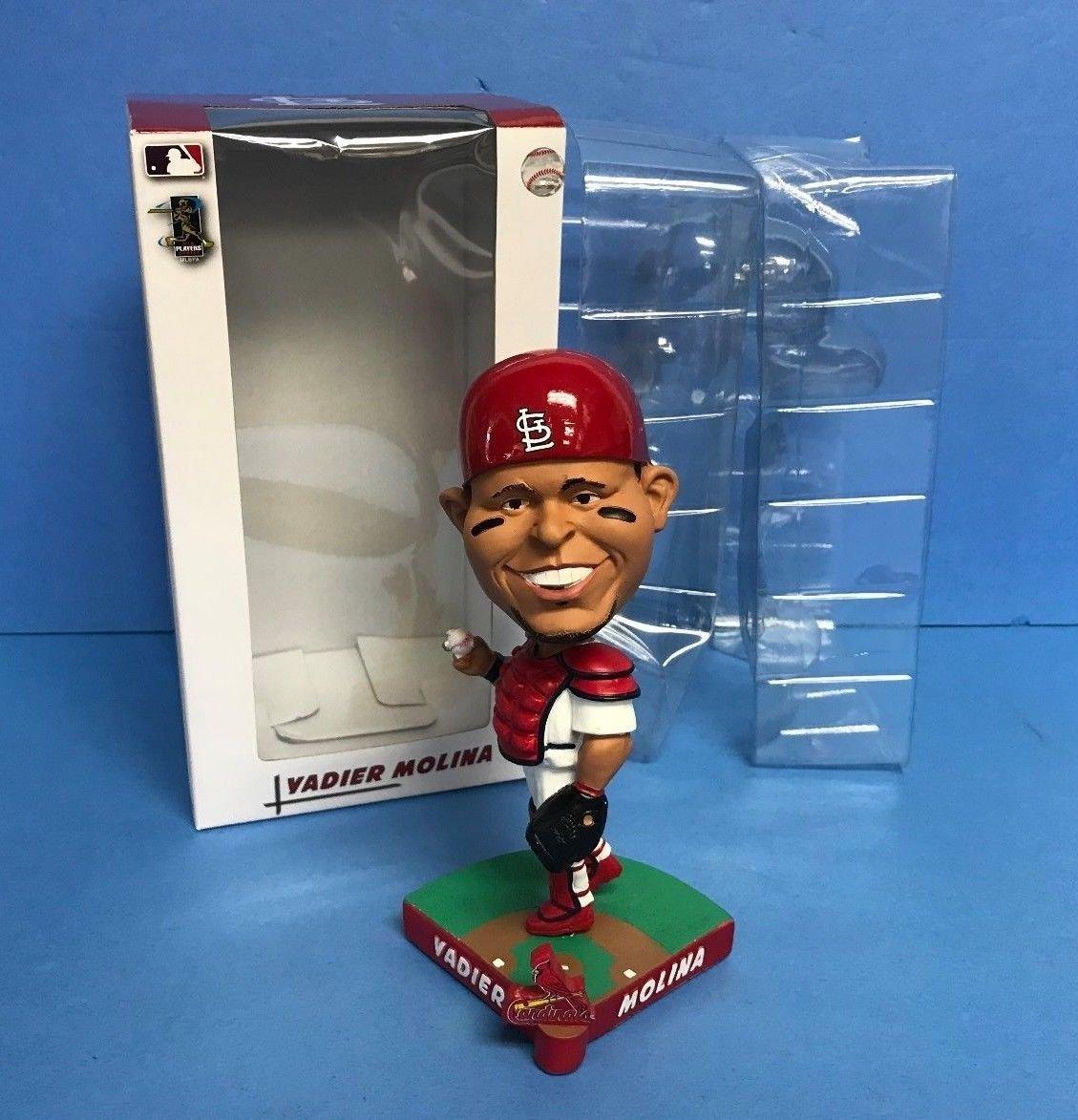 Yadier Molina CARICATURE St Louis Cardinals Limited Edition MLB Bobblehead