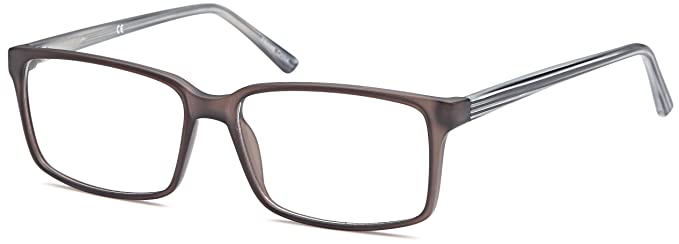 46a1a35d3ed DALIX Womens Prescription Eyeglasses Frames 60-16-145-39 RXable in Matte  Grey