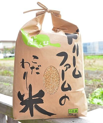 【玄米】28年度産 新米 コシヒカリ 富山県 黒部川扇状地で育ったドリームファームのこだわり米 (5kg)