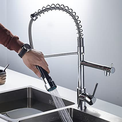 Alton Leo Luxury New Single Lever Kitchen Faucet, Double Handle And ...