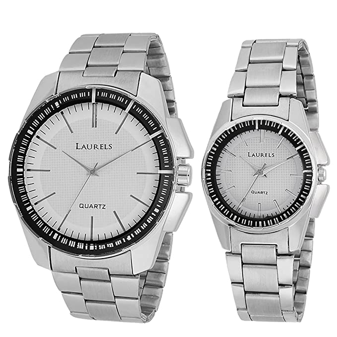 Analogue White Dial Men'S And Women'S Watch Lo-Agst-0107C