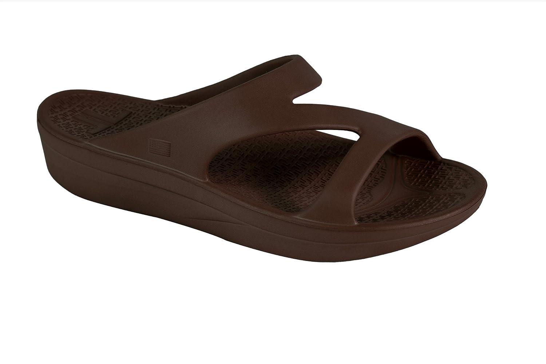 Telic Women's Z-Strap Sandal (Made in The USA) B013C6CCB8 11 B(M) US|Espresso Brown