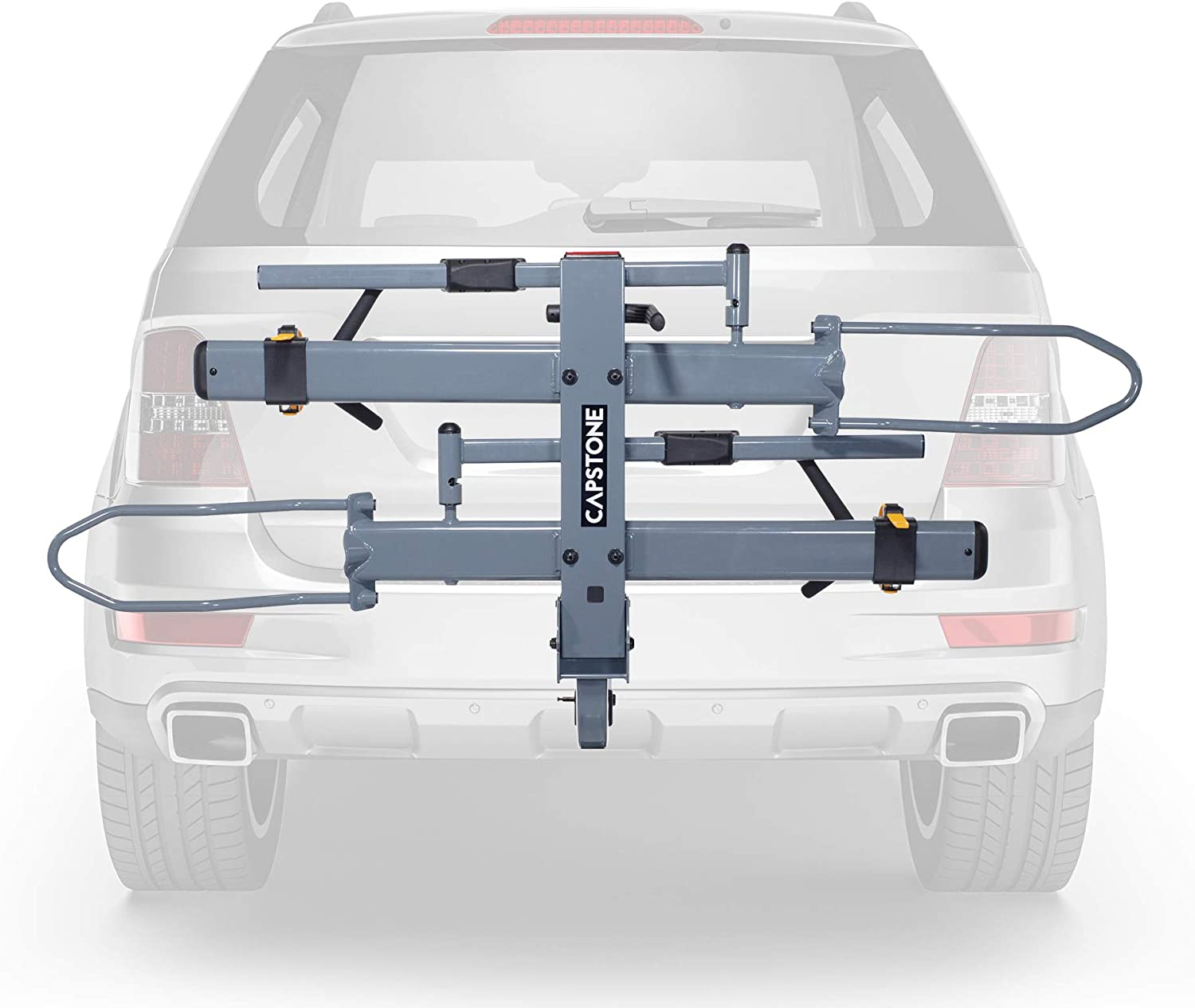 Capstone Car Racks and Bicycle Accessories Elite 2.0 Hitch Rack for 2 Bikes