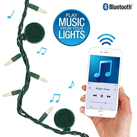 Bluetooth Speaker String Lights Gorgeous Amazon Bright Tunes Decorative String Lights With Bluetooth