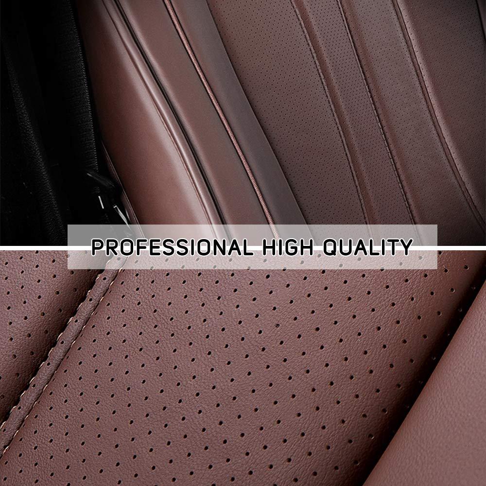 8X-SPEED Cubreasientos de Asientos de Autom/óvil para X2 F39 X3 E83 F25 X4 F26 X5 E70 F15 X6 F16 E71 E72 F15 5 plazas Conjunto Completo Asiento de Coche Protector Nero Rosso