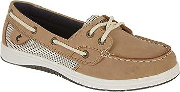 403b575ed07e Reel Legends Womens Sanibel 2 Boat Shoes