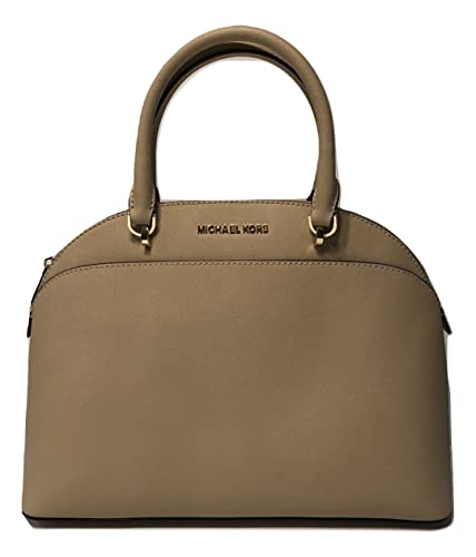 c7ae5731055957 MICHAEL Michael Kors Emmy Large Dome Satchel Oyster: Handbags ...