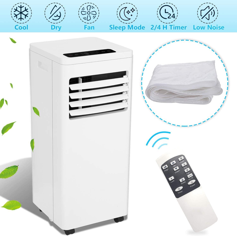 Hengda 3 in 1 Mobiles Klimagerät (2000W Klimaanlage 19.2L, Räume bis 30 m³, A)