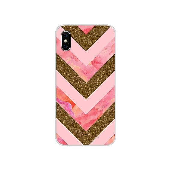 Amazon Com Phone Shell Cover Rose Gold Glitter Sparkles Wallpaper