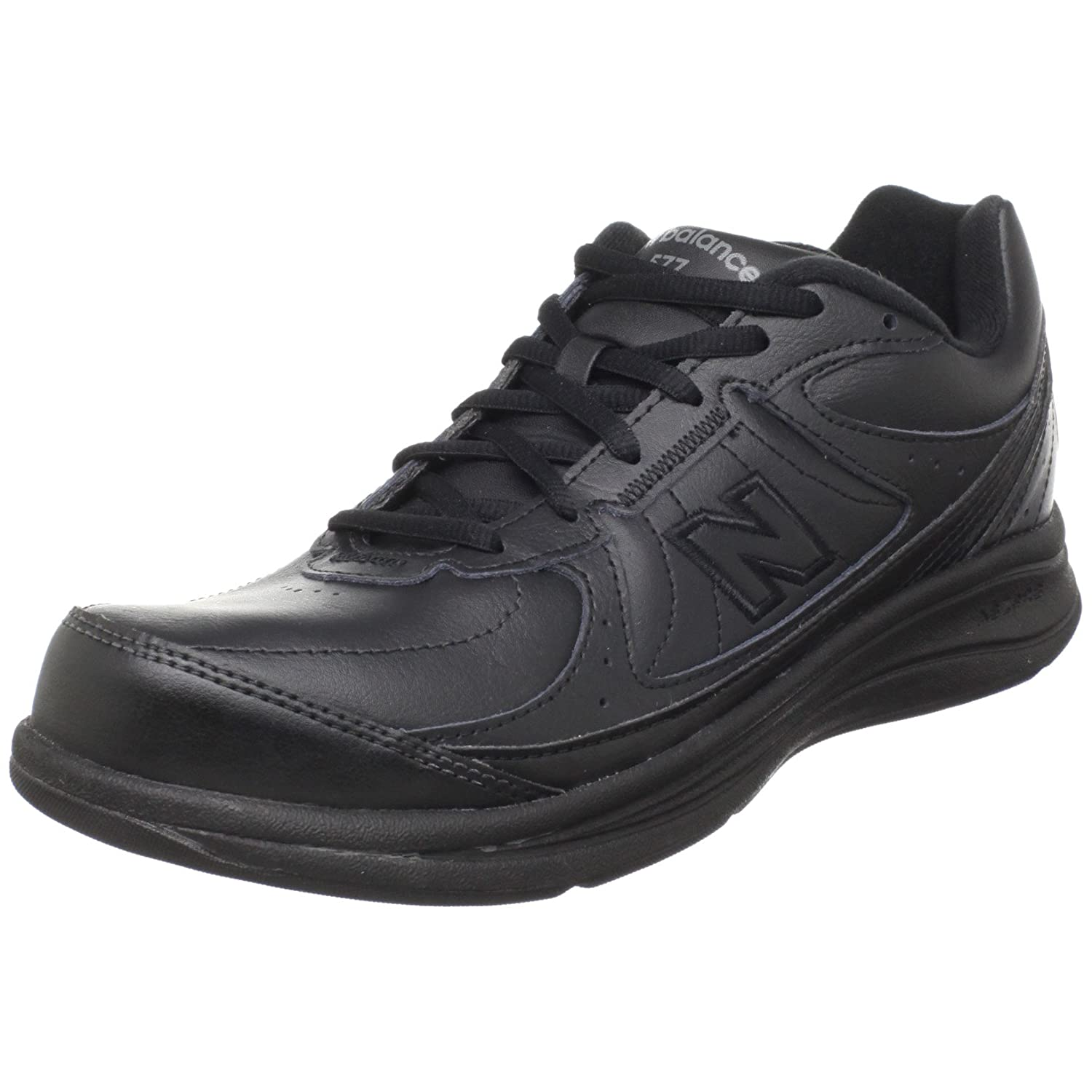 New Balance Women's WW577 Walking Shoe B003UHUKL4 6 D US|Black