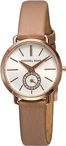 MICHAEL KORS Petite Portia White Dial Dress Ladies Watch