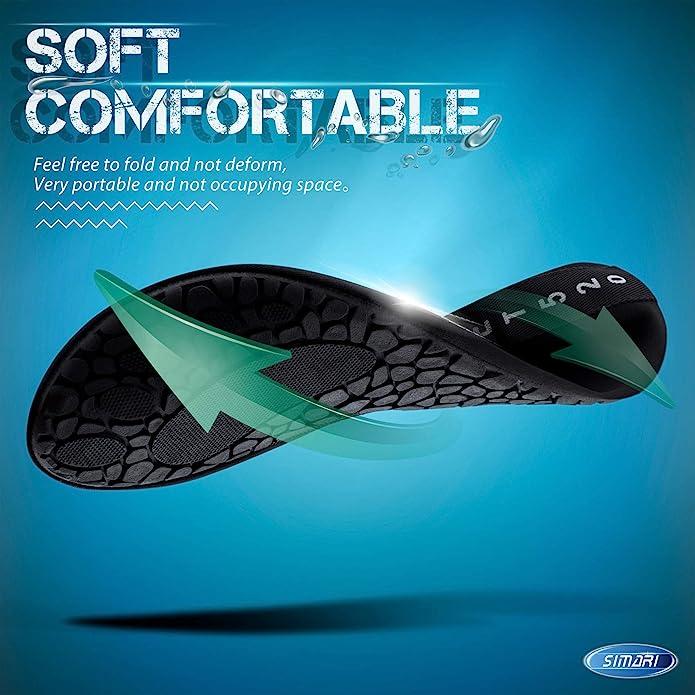 Amazon.com: SIMARI SWS001 - Calcetines de agua para mujer y ...