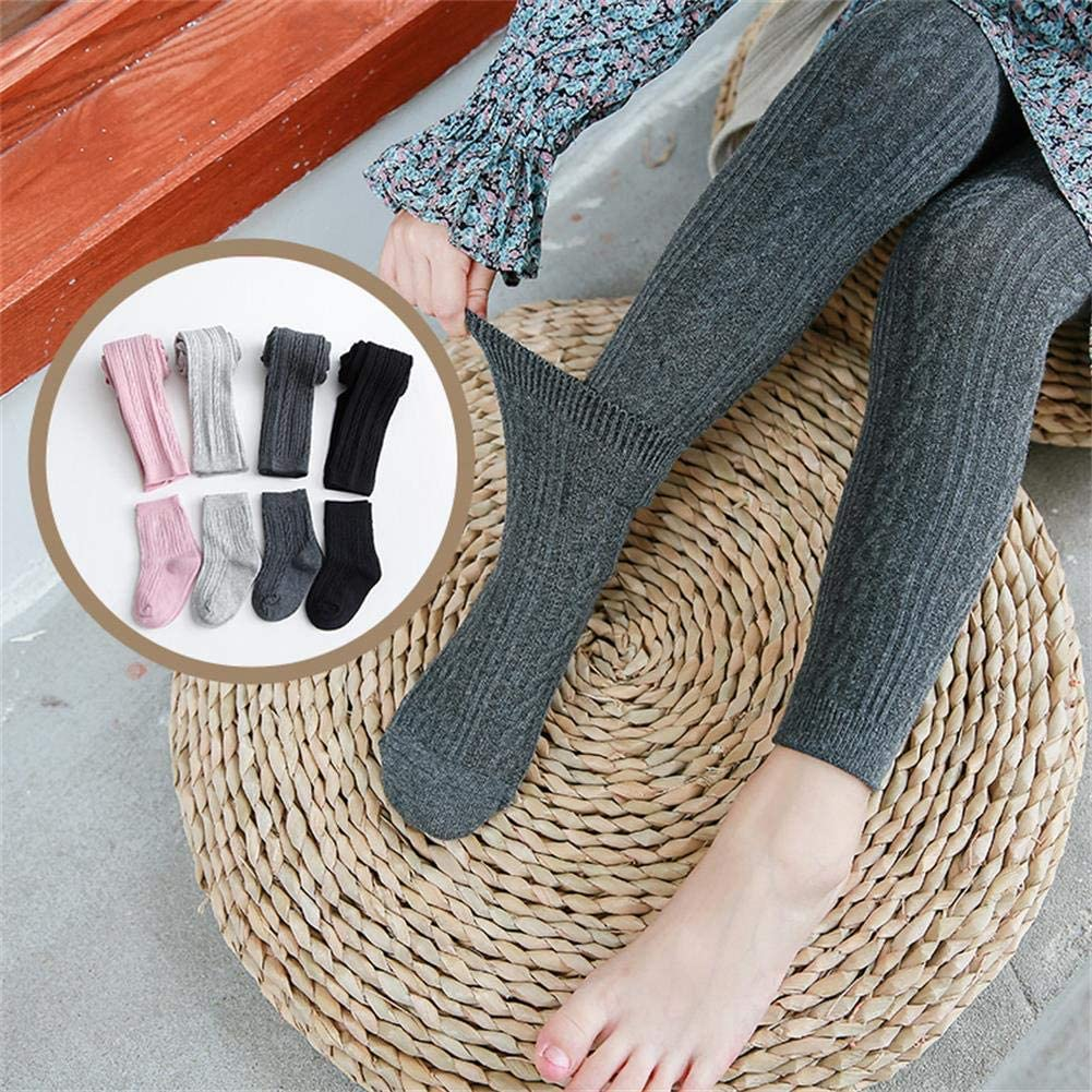 CM C/&M WODRO 4 PairsToddlerBaby Girls Tights Cable Knit Leggings Stockings Cotton 3 Pack Pantyhose Infants Toddlers 2-8T