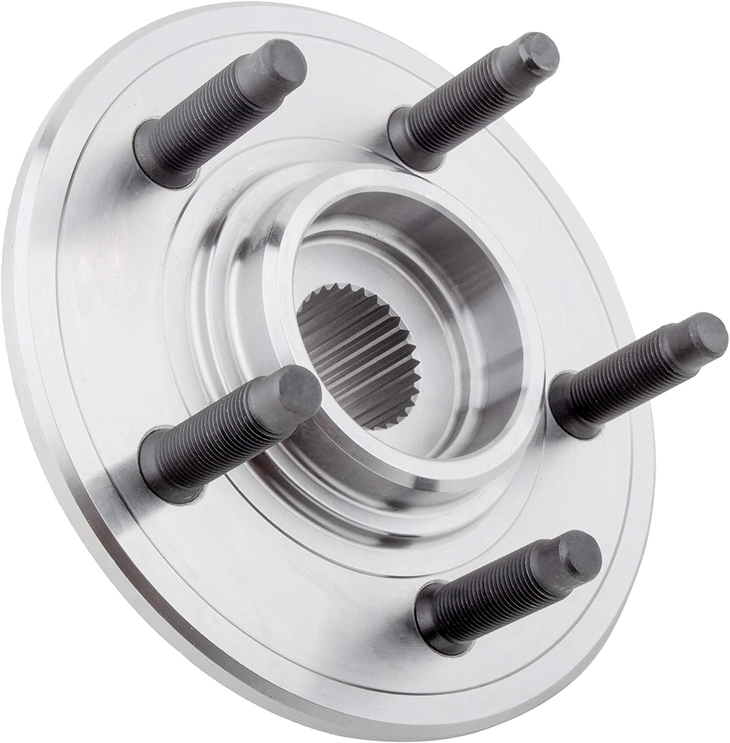 MYSMOT 521000 Rear Wheel Hub and Bearing Assembly 5 Lugs Without ABS For 02-10 Ford Explorer //07-10 Ford Explorer Sport Trac //02-10 Mercury Mountaineer //03-05 Lincoln Aviator