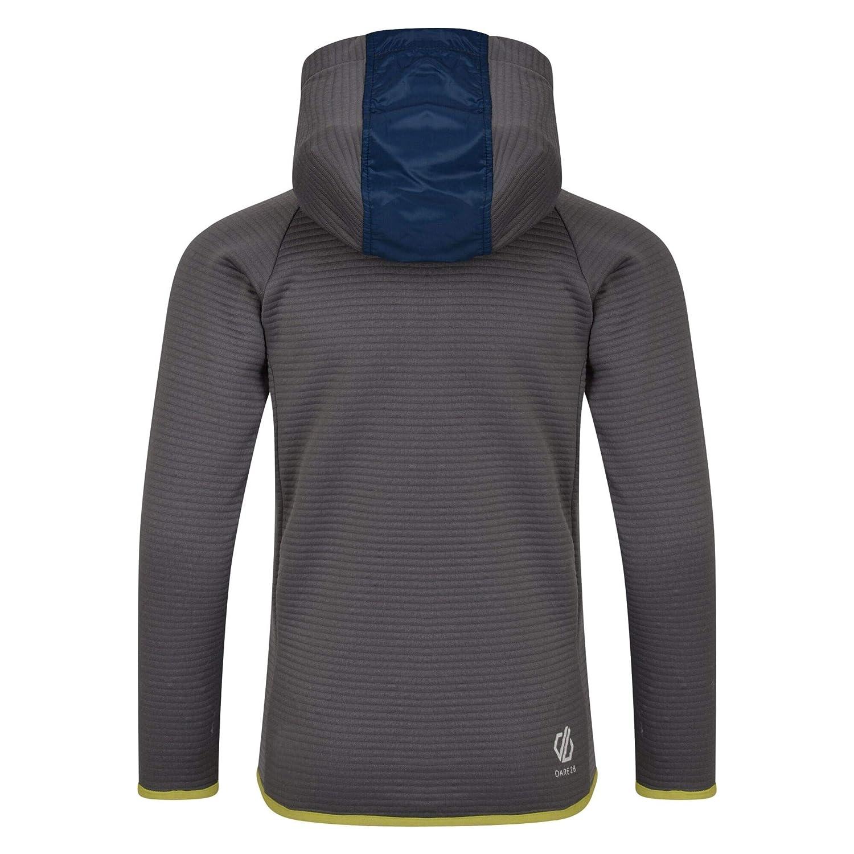 Beb/é-Ni/ños Dare 2b Infamy Lightweight Insulated Hooded Hybrid Core Stretch Fleece Jacket Capa Intermedia el/ástica