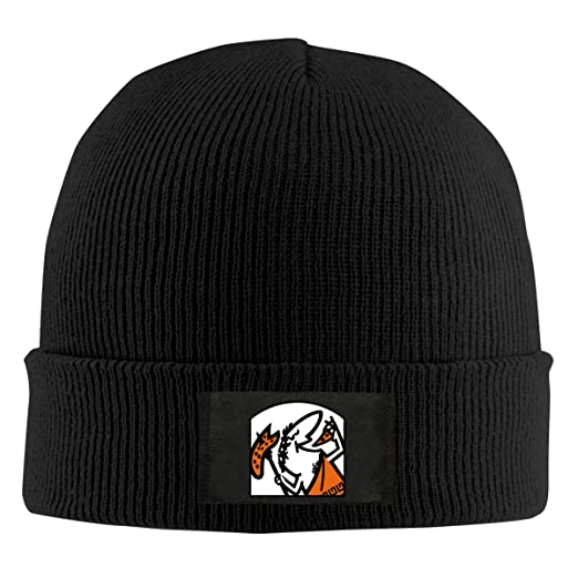 ca8c4ebc862 Mens Womens Beanie Cap Cute Little Caesar Watch Hat Winter Warm Knit Skull  Hat Cap Black at Amazon Men s Clothing store