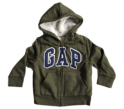 Amazon com: Baby Gap Toddler Boy's Cozy Arch Logo Full Zip