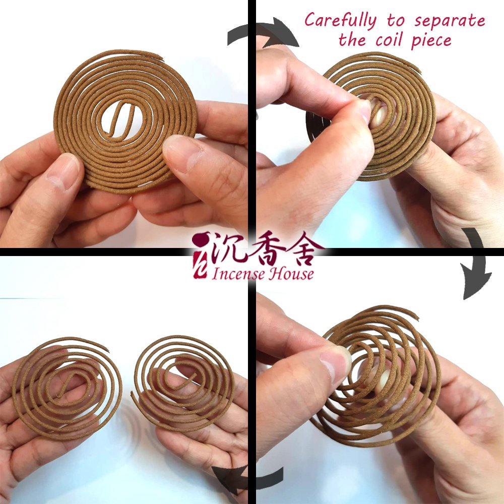 ZenPin Hoi-An Agarwood Aloeswood Incense Coils (1) by IncenseHouse - Incense Coils (Image #2)