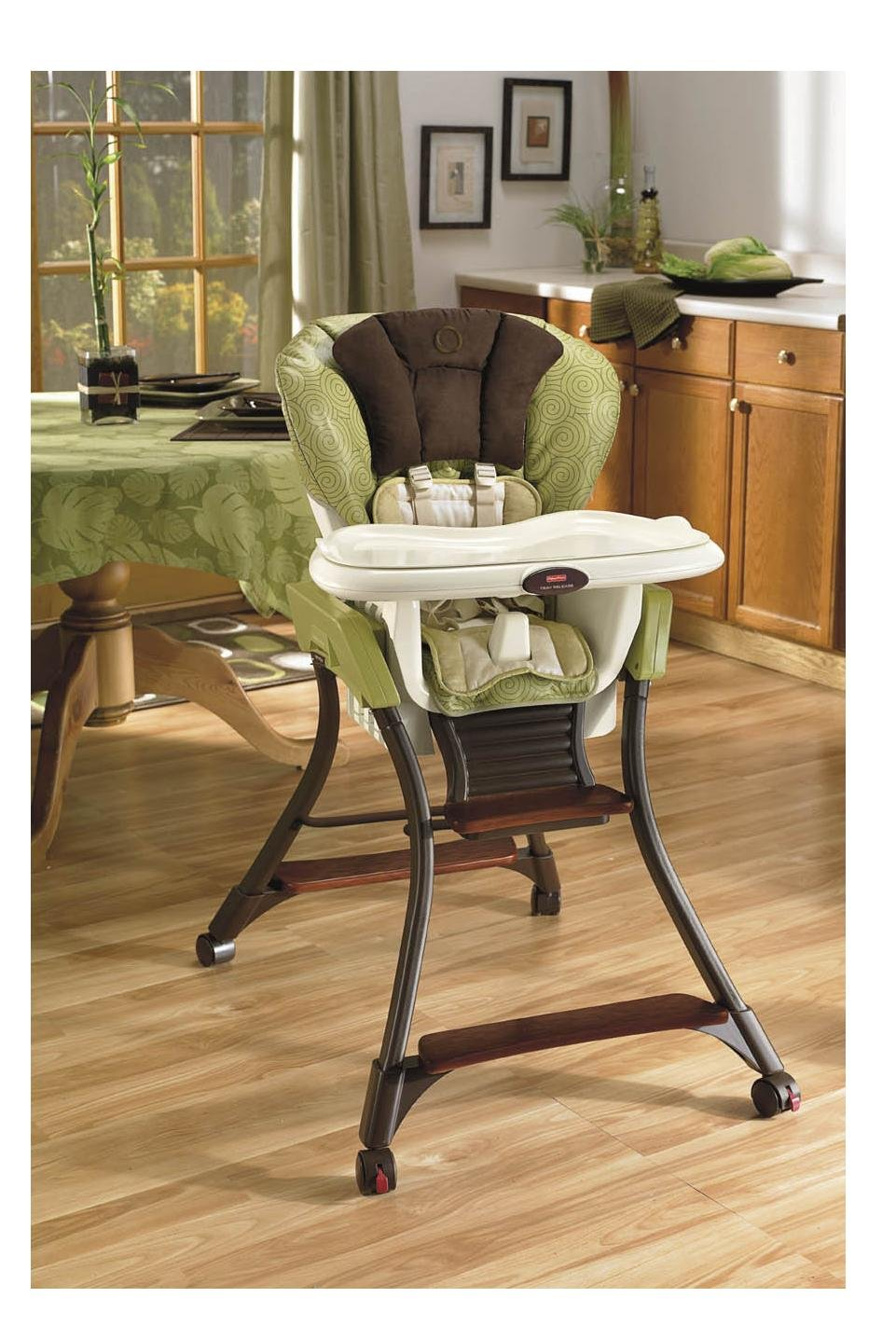 Attirant Amazon.com : Fisher Price Zen Collection High Chair : Childrens Highchairs  : Baby