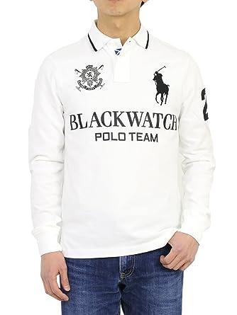 dcfc3b4e Polo Ralph Lauren Blackwatch Big Pony Custom Fit Polo Shirt at Amazon Men's  Clothing store: